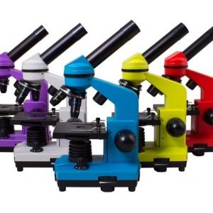 LEVENHUK RAINBOW 2L. Обзор классического биологического микроскопа с увеличением от 40 до 400 крат