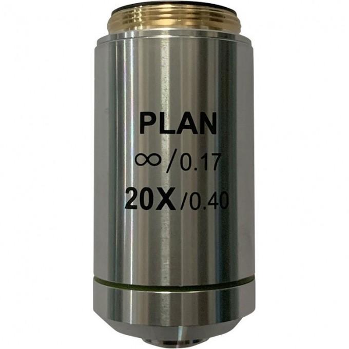 Объектив планахроматический LEVENHUK MED 20x/беск 76076