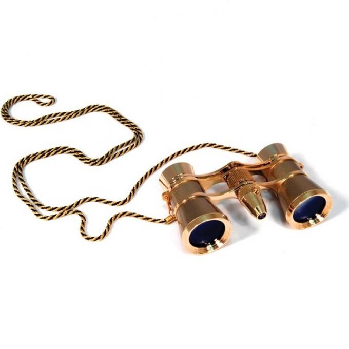 Бинокль LEVENHUK BROADWAY 325F с подсветкой и цепочкой золотой 28818