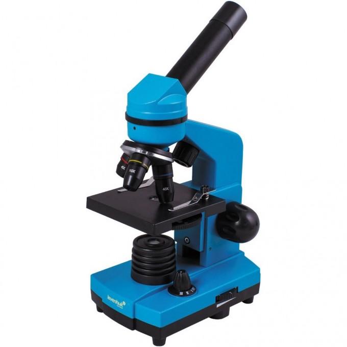 Микроскоп LEVENHUK Rainbow 2L Azure\Лазурь 69037