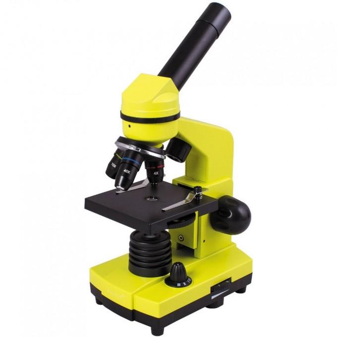 Микроскоп LEVENHUK Rainbow 2L Lime\Лайм 69038