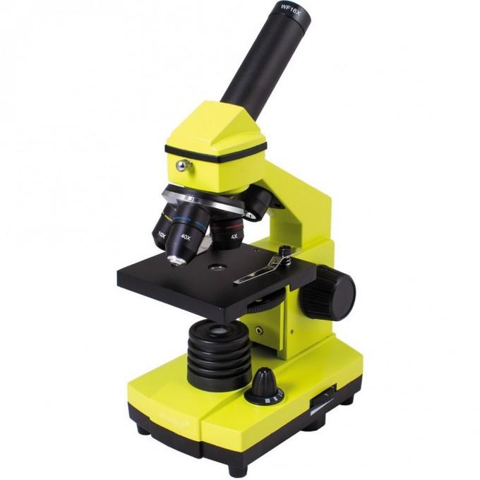 Микроскоп LEVENHUK Rainbow 2L PLUS Lime\Лайм 69044