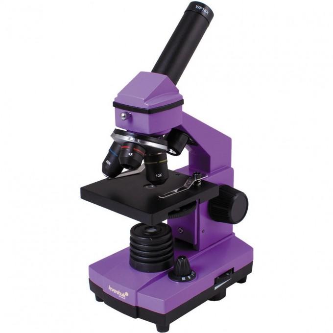 Микроскоп LEVENHUK Rainbow 2L PLUS Amethyst\Аметист 69042