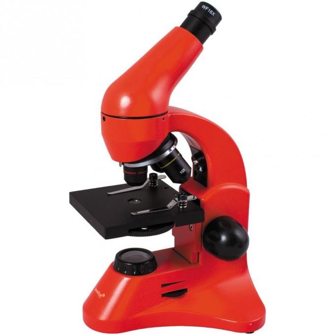 Микроскоп LEVENHUK Rainbow 50L PLUS Orange\Апельсин 69055