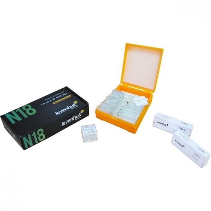 Набор готовых микропрепаратов LEVENHUK N18 NG 29276