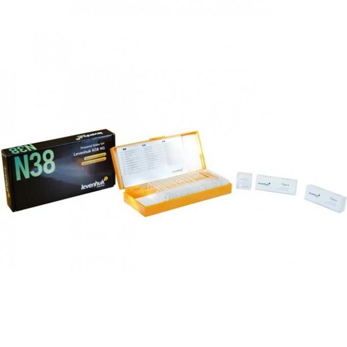 Набор готовых микропрепаратов LEVENHUK N38 NG 29278