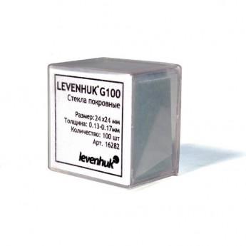 Стекла предметные LEVENHUK G100, 100 шт.